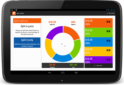 Pozool sales management on Nexus 10